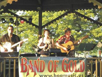Band of Gold At Dutchmans Landing.  Catskill NY